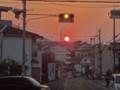 20121016 夕練:山田井の坂から