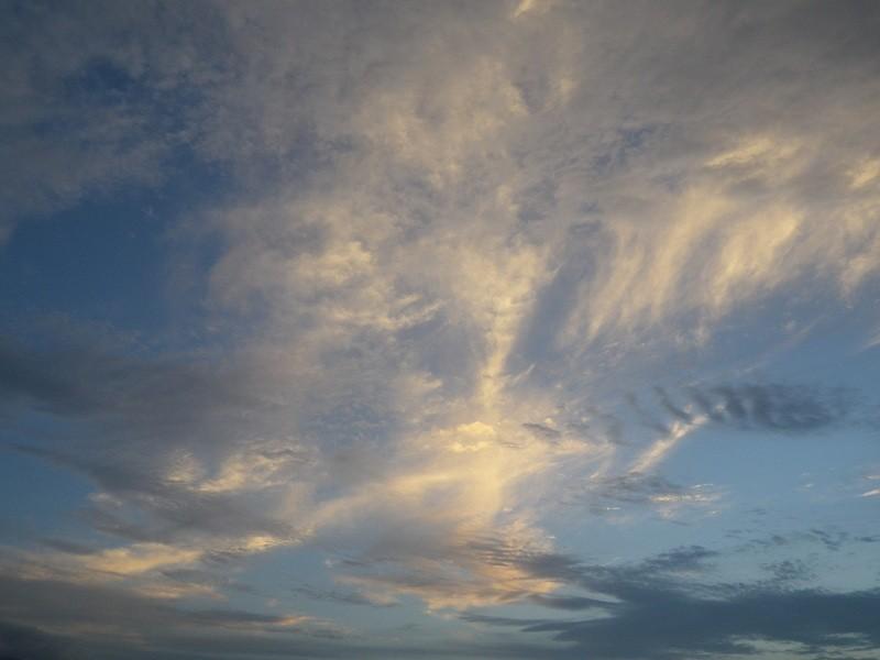 20130518 夕練:浜公園の空…