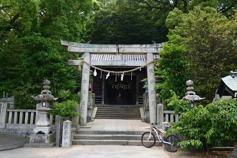 20130526 MTB昼練:浪打神社