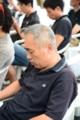 20130728 久万高原HC 疲れて眠るリーダー!!
