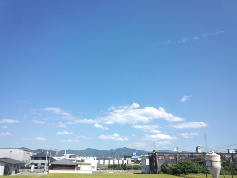 20130927 昼休みの空…