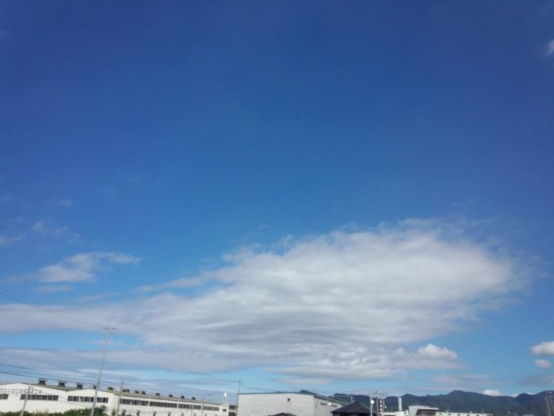 20131009 昼の空…