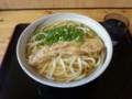20131013 鳥越製麺所 温かけ大+ちくわ天