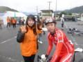 20131020 サイクリングしまなみ2013 大三島町役場ASにて