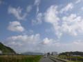 20131104 昼練:財田川沿い
