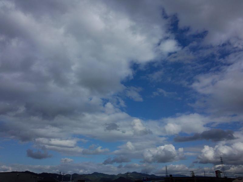 20131111 お昼の空…