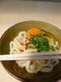 20140426 三嶋製麺所 温かい小+卵
