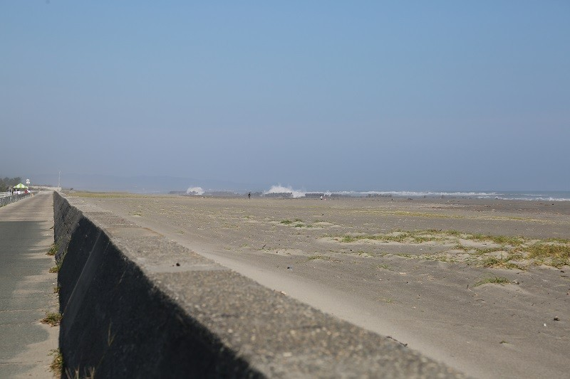 20140928 Runコース外の太平洋
