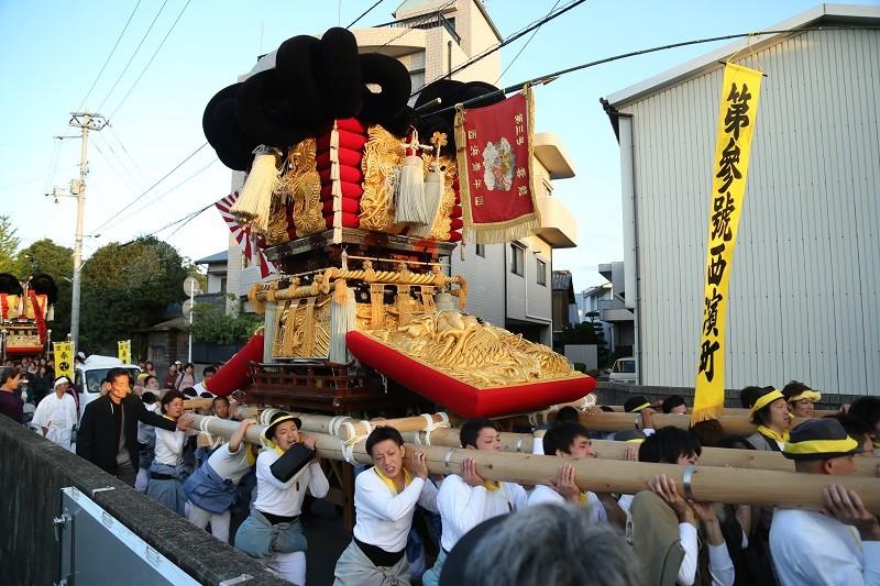 20141015 秋祭り 西濱太鼓台