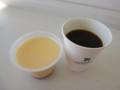 20141018 7-11 プリンとコーヒー