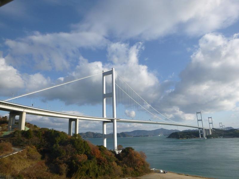 20150102 初詣ライド 来島大橋