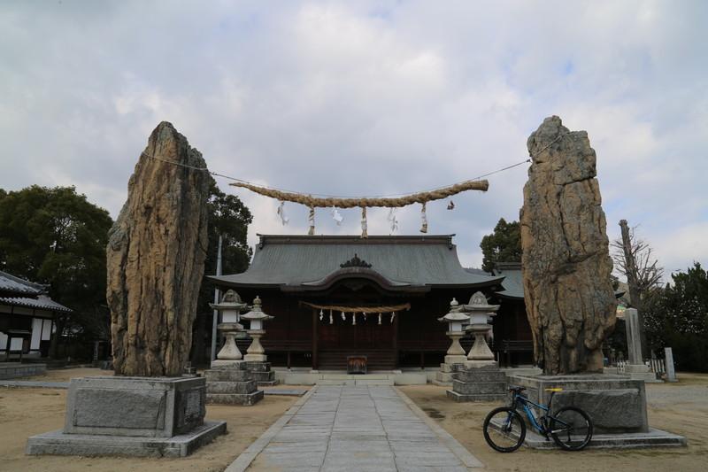 20150112 仁尾加茂神社 注連石