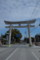20150221 琴電琴平駅前の大鳥居