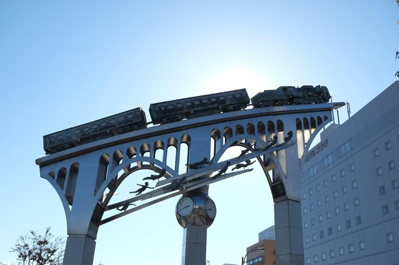 20151017 米子駅前にて…銀河鉄道999