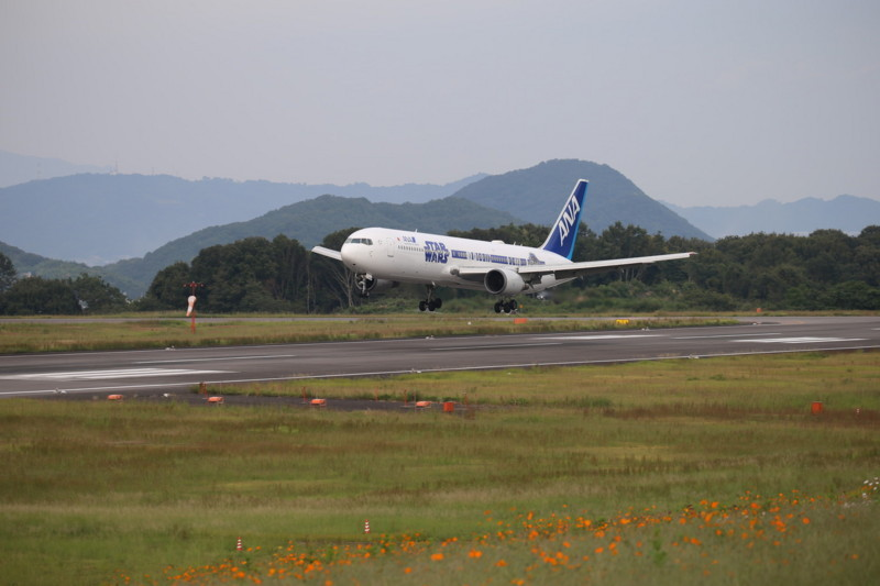 20171001 高松空港にて…