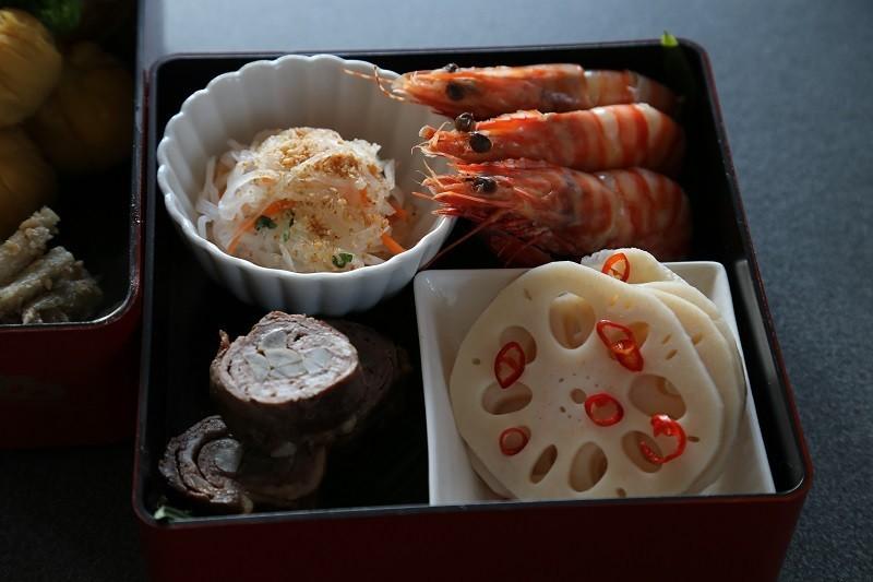 20180101 おせち料理 弐の重