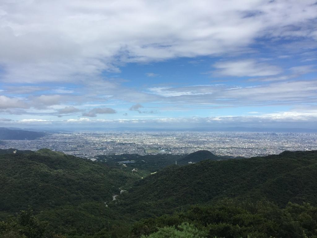 東六甲展望台の昼間景色