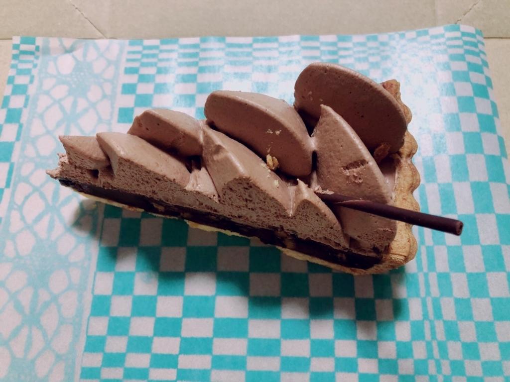 チョコレートタルト キルフェボン