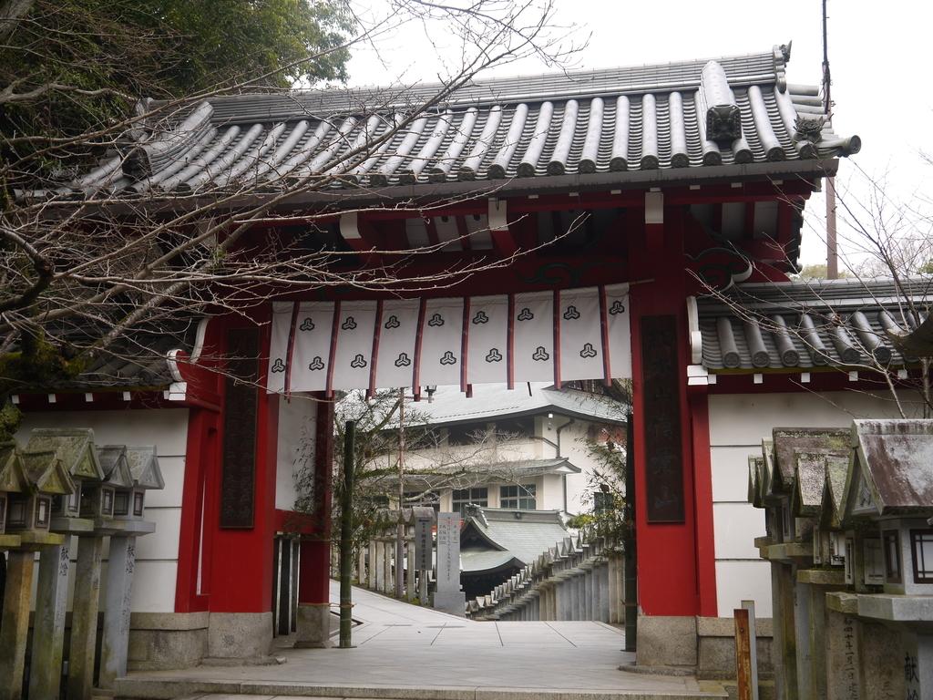 信貴山 赤門