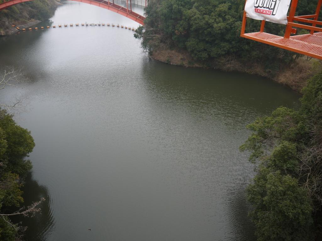 信貴山 開運バンジー 奈良県 開運橋から見た景色