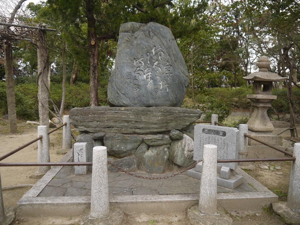 佐太天神 与謝蕪村石碑