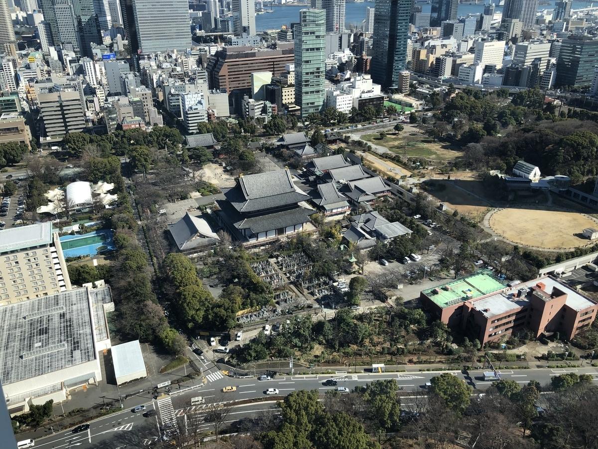 東京タワー ノバべ 展望台 増上寺