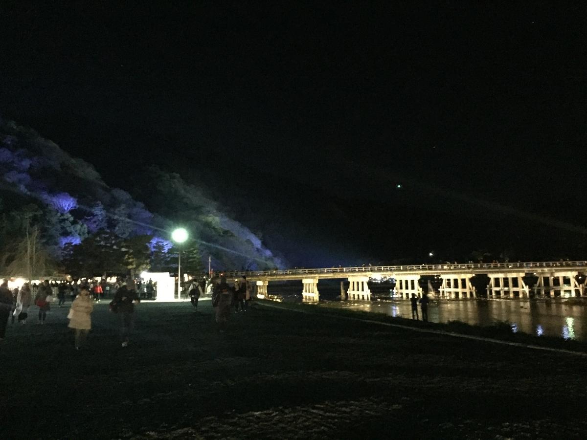 渡月橋 嵐山 絶景②