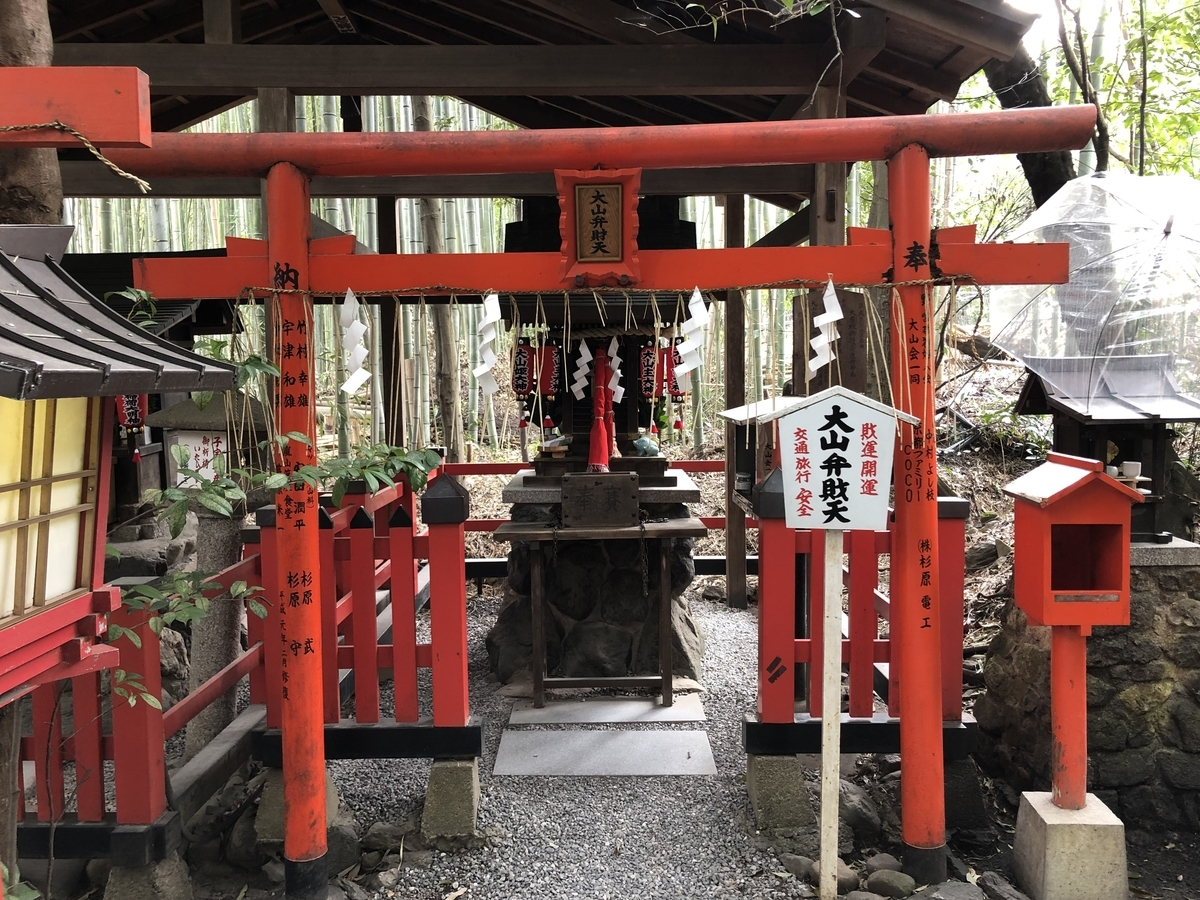 野宮神社 京都嵐山 白峰弁財天