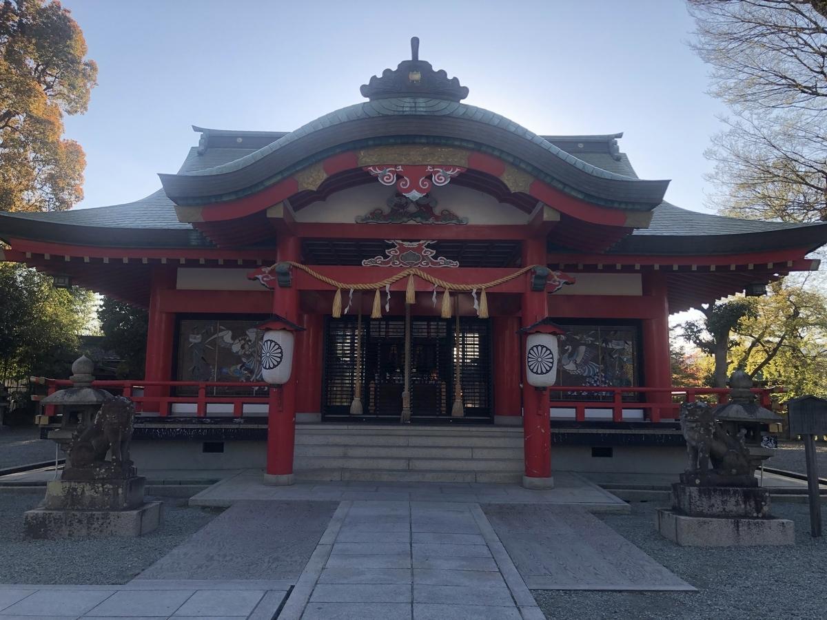 呉服神社 拝殿 ご利益
