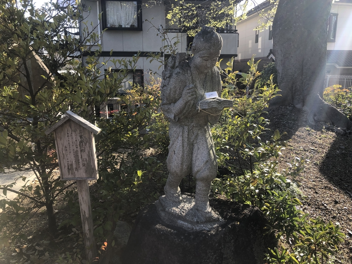 小戸神社 二宮金次郎
