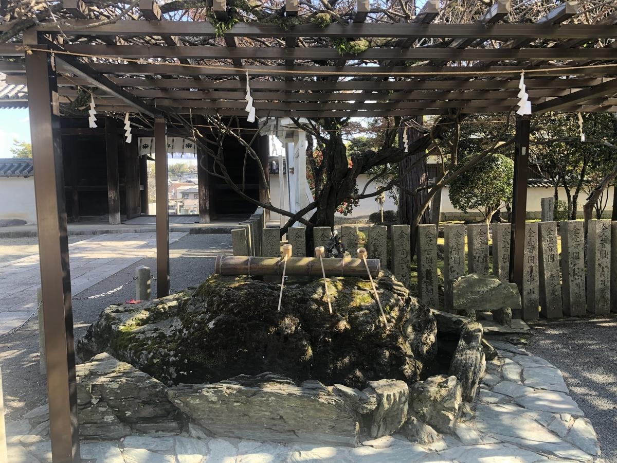 多田神社 手水舎