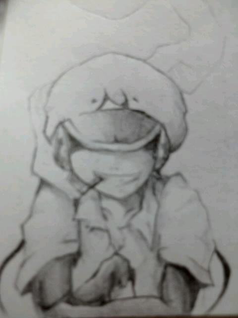 授業中に全力で描いた