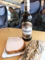 車中のビール