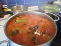 パプリカの詰め物トマトソース