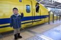 京都新聞写真コンテスト。会えてよかったドクターイエロー