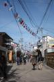 門前町の商店街-2013/03/15千代保稲荷