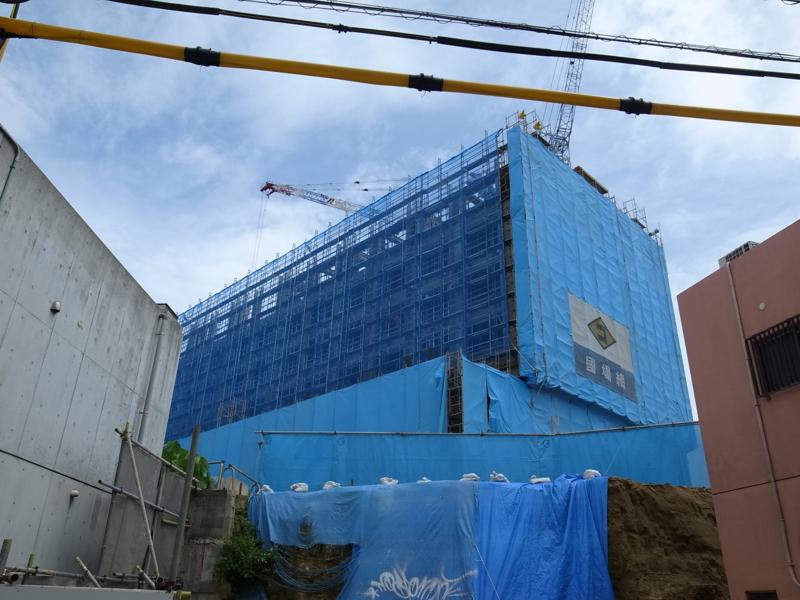 工事中の桜坂ホテル