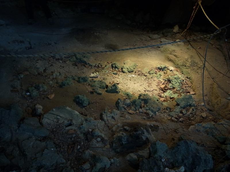武芸洞の石棺