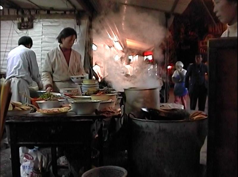 上海のカレーラーメン1