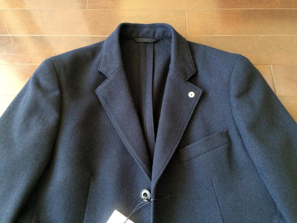 ウールカシミアジャケット1