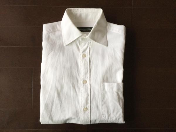 ビームスの白シャツ