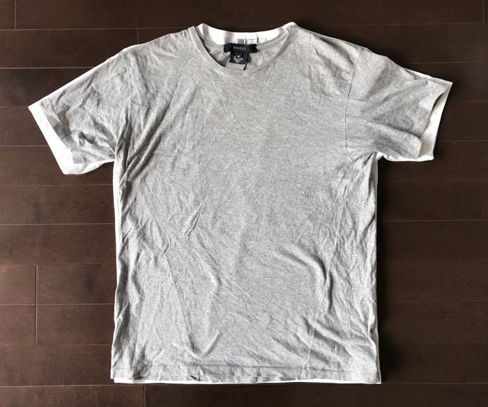 ユニクロユーとグッチのTシャツの比較