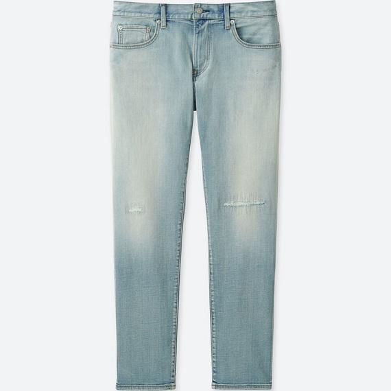 ユニクロ スリムフィットダメージジーンズ(2018年モデル)
