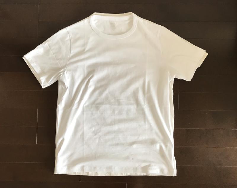 ZOZO白Tシャツと無印良品の白Tシャツ