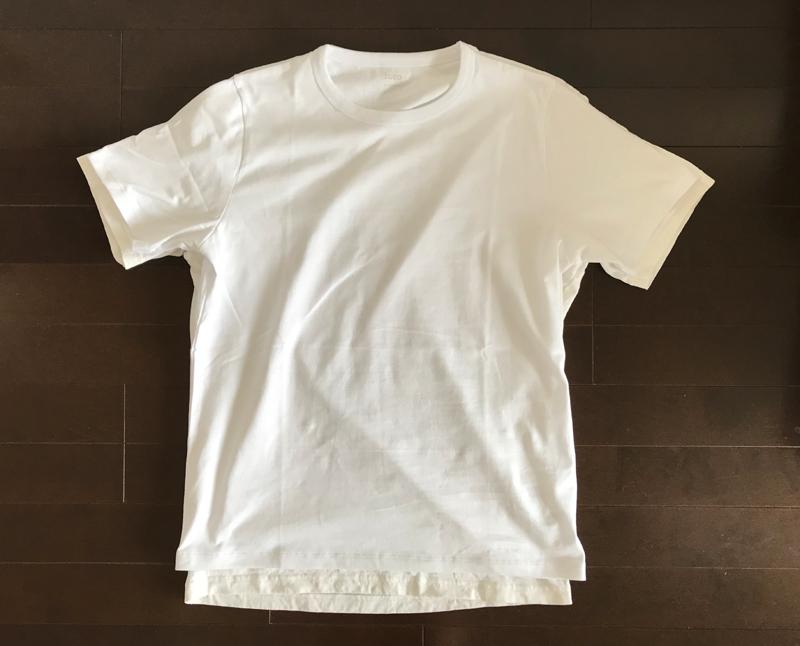 ZOZO白Tシャツとユニクロユーの白Tシャツ Mサイズ