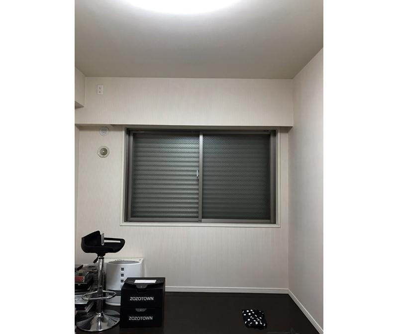 ZOZOスーツ 夜間の計測に成功した時の部屋の状況
