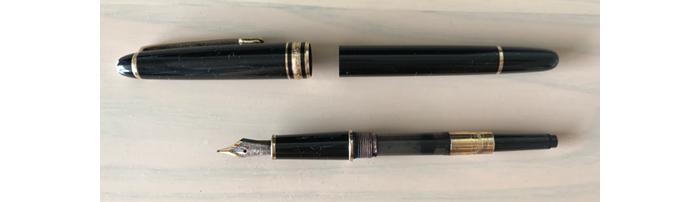 吸入式の万年筆