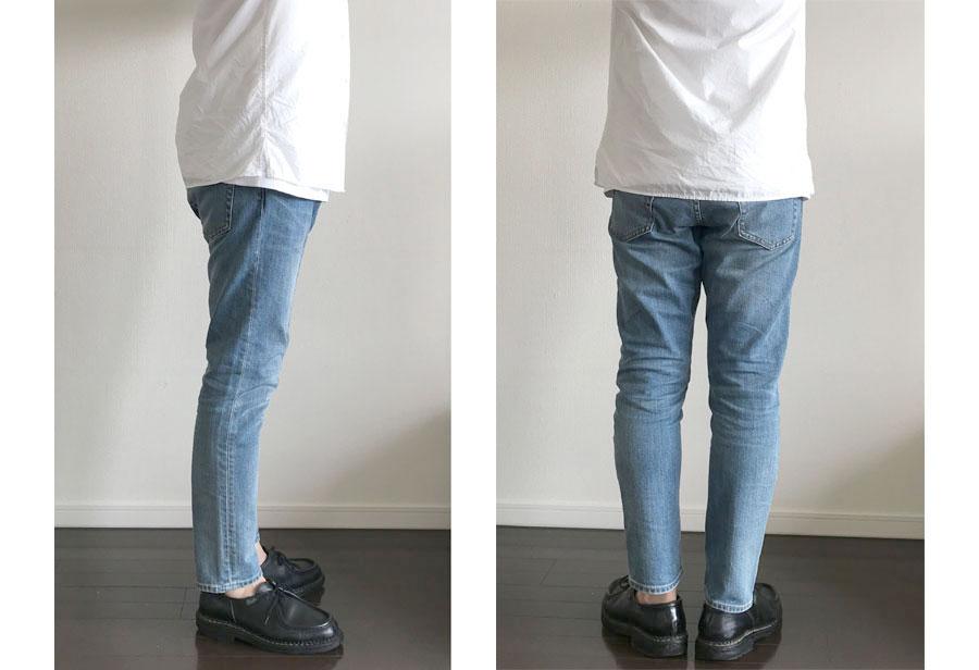 オープンカラーシャツ長袖のコーデ基本型