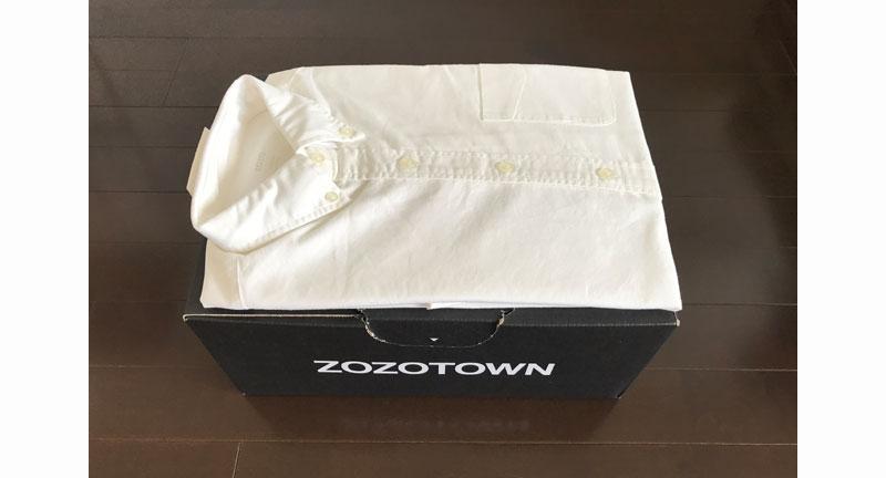 ZOZOのオックスフォードシャツ