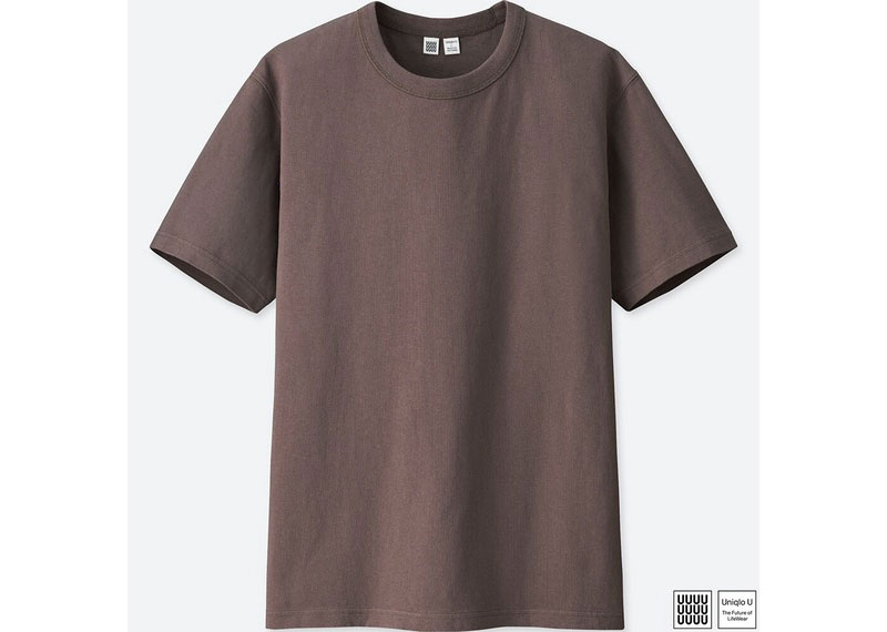 ユニクロユー クルーネックT(1000円)